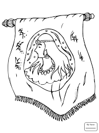 Esther And Mordecai Christianity Bible Coloring Pages For Kids