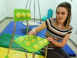 Ball Seats For Classrooms by Teacher U0027s Diy Tennis Ball Chairs For Kids With Special Needs Go