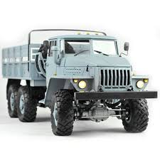 100 Rc Scale Trucks Cross RC CZRUC6 UC6 110 6X4 Military Truck Crawler Kit EBay