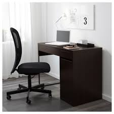 Micke Desk With Integrated Storage Assembly Instructions by Micke Desk Black Brown 105x50 Cm Ikea
