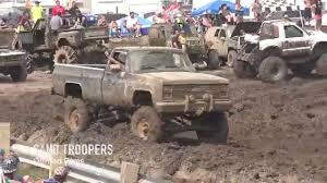 The SQUARE BODY CHEVYS Of The MUD BOG