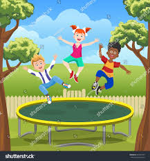 Happy Jumping Kids On Trampoline Backyard Stock Vector 662447509 ... Shelley Hughjones Garden Design Underplanted Trampoline The Backyard Site Everything A Can Offer Pics On Awesome In Ground Trampoline Taylormade Landscapes Vuly Trampolines Fun Zone 3 Games For The Family Active Blog Wonderful Diy Recycled Chicken Coops Interesting Small Images Decoration Best Whats Reviews Ratings Playworld Omaha Lincoln Nebraska Alleyoop Kids Jump And Play On In Backyard Stock Video How To Buy A Without Killing Your Homeowners Insurance