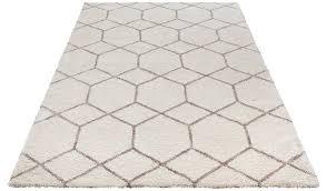 hochflor teppich lasar my home rechteckig höhe 25 mm besonders weich durch microfaser wohnzimmer kaufen otto
