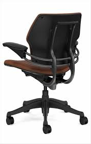 custom humanscale freedom task chair in leather