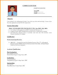 Cv Format For Teaching Job Best Resume And Pdf In India 1 Examples Of Resumes S