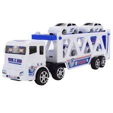 100 Toy Car Carrier Truck Amazoncom Smiela Double Trumpet With Mini Police S