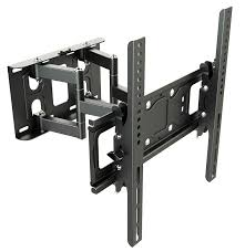 support tv mural universel ricoo support tv mural orientable inclinable s6244 meuble de