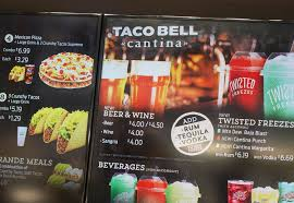 100 Big Truck Taco Menu Bell Just Opened A Swank New Restaurant In Las Vegas Fortune
