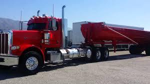 100 End Dump Truck Cowboy Trucking Peterbilt 388 End Dump Super 10 Dump Truck YouTube
