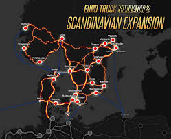 100 Euro Truck Simulator 2 Key Buy Scandinavia From The Humble Store