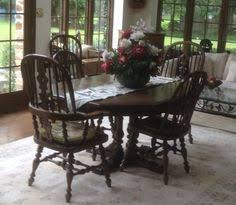 Ethan Allen Dining Room Set by Set Of 4 Vintage Ethan Allen Chairs This Set Includes 4 Ethan
