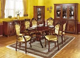 esszimmer möbel mit wurzelholzfurnier verschiedene ausführungen