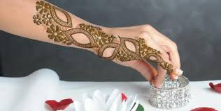 Simple Mehndi Designs For Teenage Girls