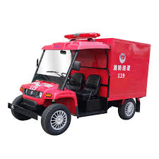 New Water Tank Mini Fire Truck Best Electric Fire Engine Utility ...