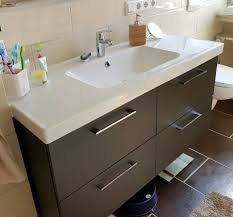 waschtisch unterschrank wandschrank badezimmer set ikea godmorgon