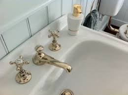 Barber Wilson Unlacquered Brass Faucet by Barber Wilson Faucet With Side Spray Kitchen Barber Wilsons North