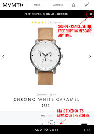 Simple Tweaks To Product Pages Can Drive Sales | Practical ... Maxx Chewning On Twitter New Watches Launched From Mvmt 2019 Luxury Fashion Mvmt Mens Watch Brand Famous Quartz Watches Sport Top Brand Waterproof Casual Watch Relogio Masculino Quoizel Coupon Code Park N Jet 1 Jostens Yearbook Promo Frontier City Printable Coupons Discount Code For 15 Off Plus Free Shipping Sbb Codes Criswell Jeep Service Ternuck Sale Texas Instruments Lovecoups Beauty Shortsleeve Buttonups And Sunglasses And Coupon Code 10 Off Lowes Usps Gallup The Rifle Scope Store Supreme Source