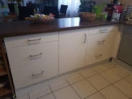 küche ikea faktum mit weißer applad front in 64319