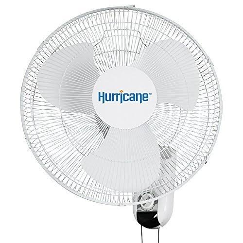 Hurricane Classic Oscillating Wall Mount Fan - 16""
