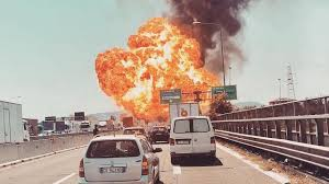 100 Truck Explosion 3 Dead 67 Injured After Tanker Truck Explodes On Italian Highway