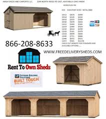 Pre Built Sheds Canton Ohio by Home