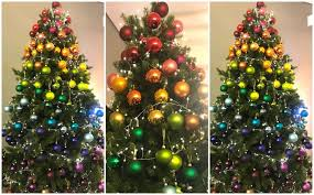 Rainbow Christmas Trees Will Be Biggest 2018 Trend Says Inside Tree