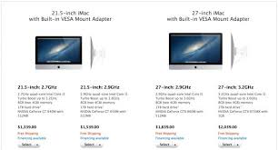 Vesa Desk Mount Imac by You Can Now Buy Apple U0027s Latest Imacs With A Built In Vesa Mount