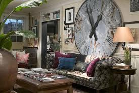 Living Room Decorating Ancient Wall Clock