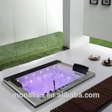 2 person rectangle bath tub acrylic plastic portable walk in