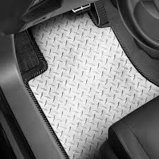 Intro-Tech® - Diamond Plate Floor Mats