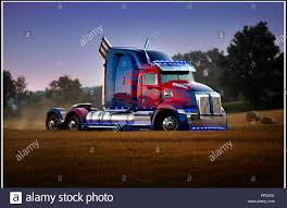 100 Optimus Prime Truck For Sale Stock Photos Stock Images Alamy
