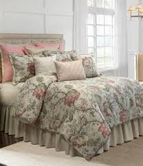 Noble Excellence Bedding by Veratex Rosario Floral Jacquard Comforter Set Dillards