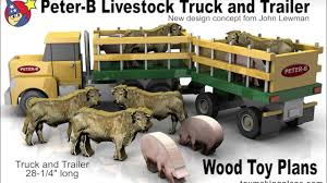 Wood Toy Plans - Peter B Livestock Truck N Trailer - YouTube Matchbox Lesney No 1 2 Mercedes Lorry Trailer 1960s Made In Road Truck 3asst City Summer Brands Products Www Dodge Cattle Cars Wiki Fandom Powered By Wikia 116th Wsteer Bruder Includes Cow Britains Farm Toys Page Scale Models Pistonheads Structo Livestock Truck Trailer C3044 Vintage Toy Farm Ranch Cattle 164 Custom Streched Tsr Intertional And Dcp Wilson Cattle Trailer Oxford Diecast Wm Armstrong Livestock Model Metal Toy Trucks Wwwtopsimagescom Amazoncom Mega Big Rig Semi 24 Childrens Channel Unboxing Playtime Toys For Fun A Dealer