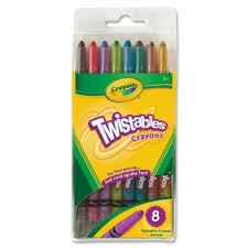 Crayola Bathtub Crayons Refill by Twistable Crayons 8 Pk