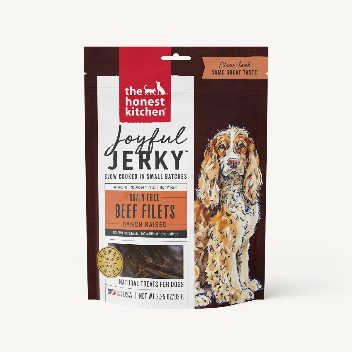 The Honest Kitchen Joyful Jerky Filets - Beef