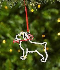 Dillards Christmas Tree Farm by Vieste Creations Merry And Bright 325 Dog Ornament Dillards