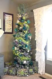 75 Flocked Slim Christmas Tree by Best 25 Skinny Christmas Tree Ideas On Pinterest Tall Skinny