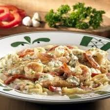 Olive Gardens Chicken or Shrimp Carbonara Recipe by Michael H