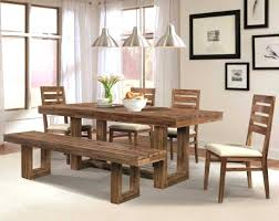 Dining Room Tables With Benches And Chairs Calgary Crate Barrel Bench Ontario 2018 Also Enchanting Table Cool Adab Fa F Idan Pictures