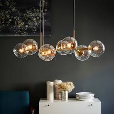 awesome glass chandelier hanging glass chandelier