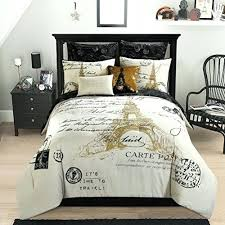 Paris Themed Bedding Tar Modern Bedroom With Feminine Paris