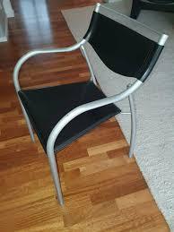 stühle 6 stück esszimmer designer lederstühle ligne roset