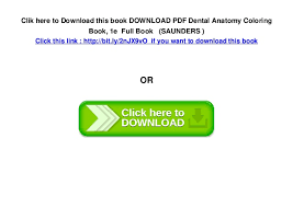 Dental Anatomy Coloring Book Htm Marvelous Free Download