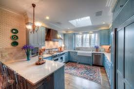 country kitchen country kitchen rugs with blue kitchen cabinets