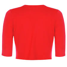 kennedy red shrug vintage style knitwear lindy bop