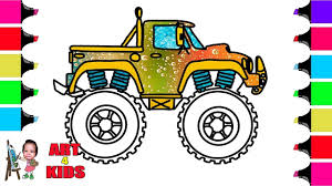 How To Draw Monster Truck | Coloring Pages For Children | Coloring ... Hot Wheels Monster Truck Coloring Page For Kids Transportation Beautiful Coloring Book Pages Trucks Save Best 5631 34318 Ethicstechorg Free Online Wonderful Real Books And Monster Truck Pages Com For Kids Blaze Of Jam Printables Archives Pricegenie Co New Pdf Cinndevco 2502729