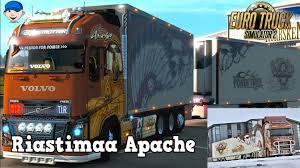 Euro Truck Simulator 2 Mods Riastimaa Apache Volvo Tandem Truck ...
