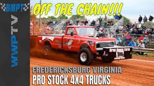 100 Truck Pulling Videos PRO STOCK 4X4 TRUCKS Pulling At Fredericksburg May 2018