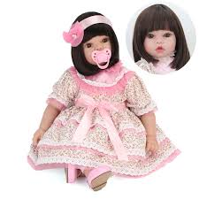 165 REALISTIC REBORN DOLL REAL LIFE BABY GIRL DOLL NEWBORN KIDS