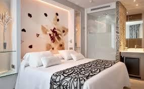 terrific bedsheet wall design by impressive tile lighting decor